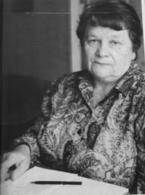 Maria Grochowska - nauczycielka w Szkole w Patkowie
