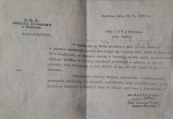 Dokument potwierdzający zgodę na zrobienie boiska na terenie kolejowym