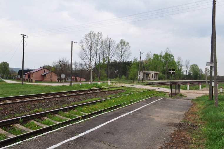 Stacja kolejowa w Patkowie maj 2010