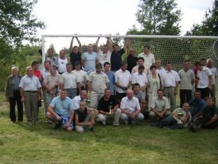 Pamiątkowa fotografia po turnieju 2008 r.
