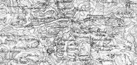 1:288 000 Heldensfeld-Benedicti: Carte von West-Gallizien wyd. 1808 r.