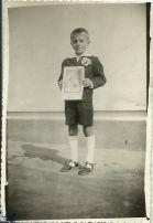Zdjęcie z I-wszej Komunii Świętej Andrzeja Rymarczuka, ur. 1952 r.