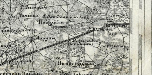 ruska mapa patkow 1912