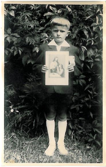 Stanisław Gmitruk I-sza Komunia Święta, Niemojki, 4-lipca 1964 r.