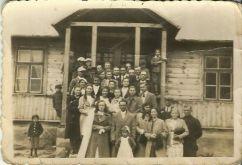 Niemojki 1942 r. Zdjęcia ślubne Stanisława Dmitruka z Patkowa z Anną z domu Mikołajczuk z Niemojek.