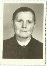 Zofia Kuźma, ur. w roku 1900, zm. 28.06.1982 r,