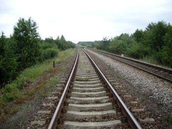 Tory od strony Tocznej w kierunku Platerowa