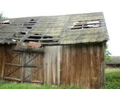 Drewniana stodoła