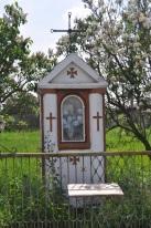 Kapliczka z 1939 roku na posesji Tomczuka