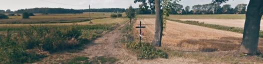 Krzyż przy drodze do Niemojek