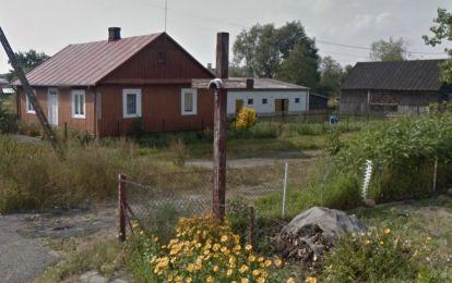 krzyz we wsi na posesji Mitrofaniuka