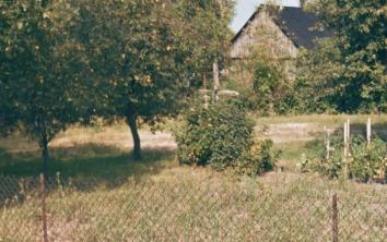 Krzyż we wsi na posesji Tadeusza Norwy