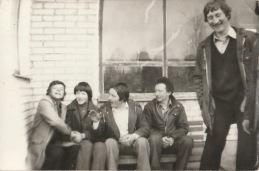 od lewej: P.Fabisiak, osoba nierozpoznana, A. Rak, A. Gil, M. Rak