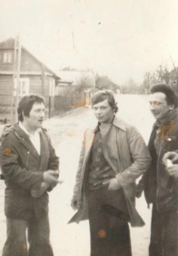 od lewej: - A. Rak, P. Fabisiak, A. Gil