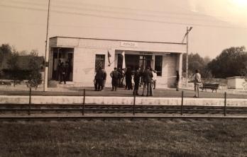 Otwarcie przystanku w Patkowie 7 maja 1977 r.